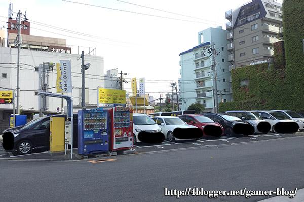 天保山の駐車場