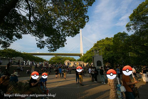 天保山公園入口