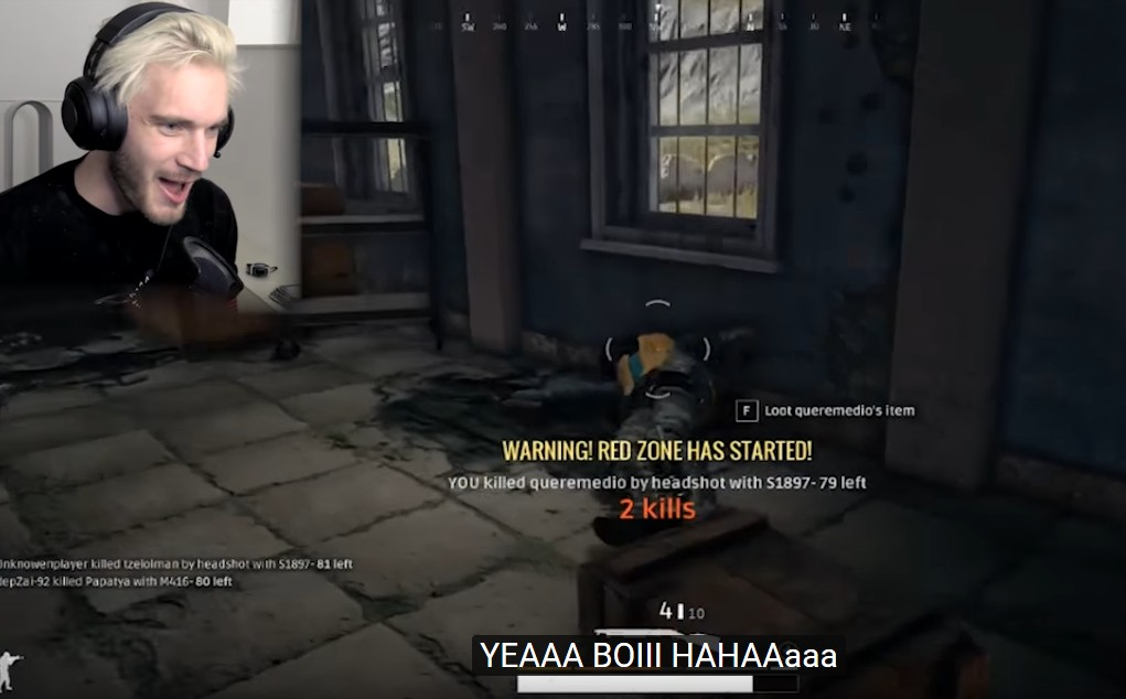 PewDiePie plays PUBG