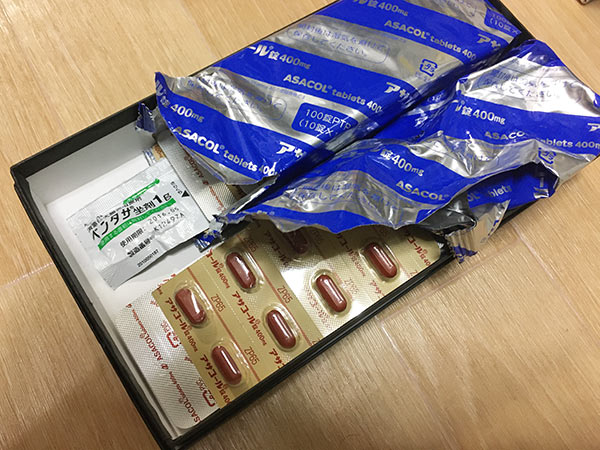 潰瘍性大腸炎の薬